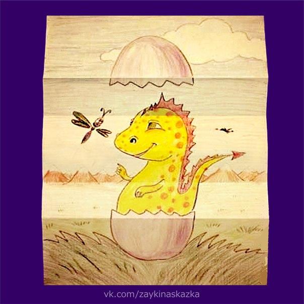 КТО В ЯЙЦЕ Забавная поделка, которая понравится ребёнку.Динозаврика можно заменить цыплёнком, утёнком и т.