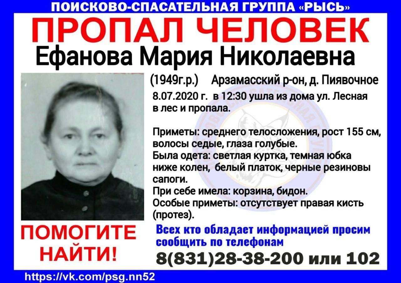 Ефанова Мария Николаевна