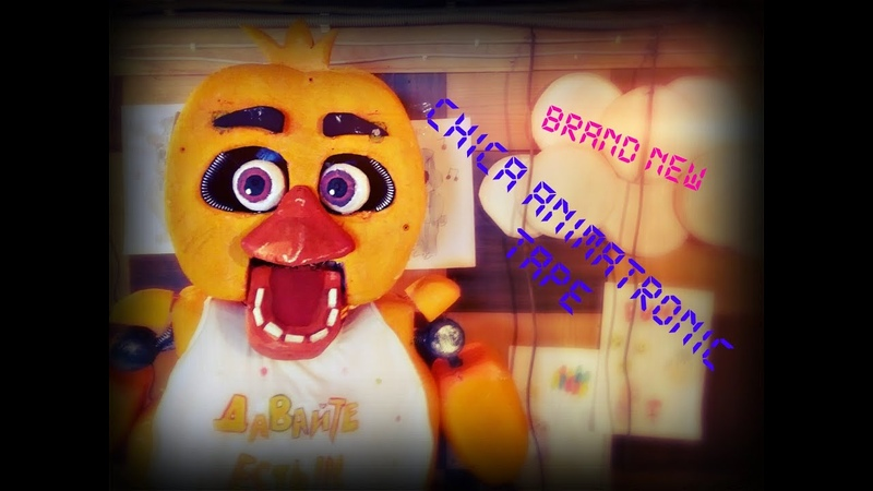 [FNAF LIVE-ACTION] CHICA ANIMATRONIC!