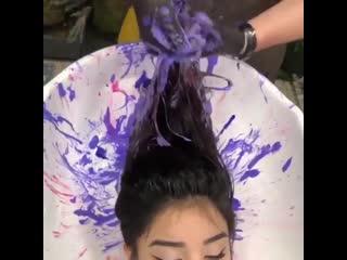 Невероятно красивый цвет волос