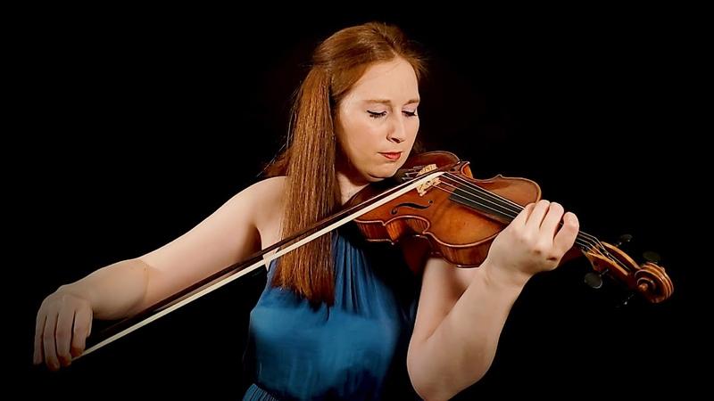 J.S. Bach - Chaconne in D Minor (Partita No. 2) BWV 1004 | Augusta McKay Lodge, baroque violin 4K