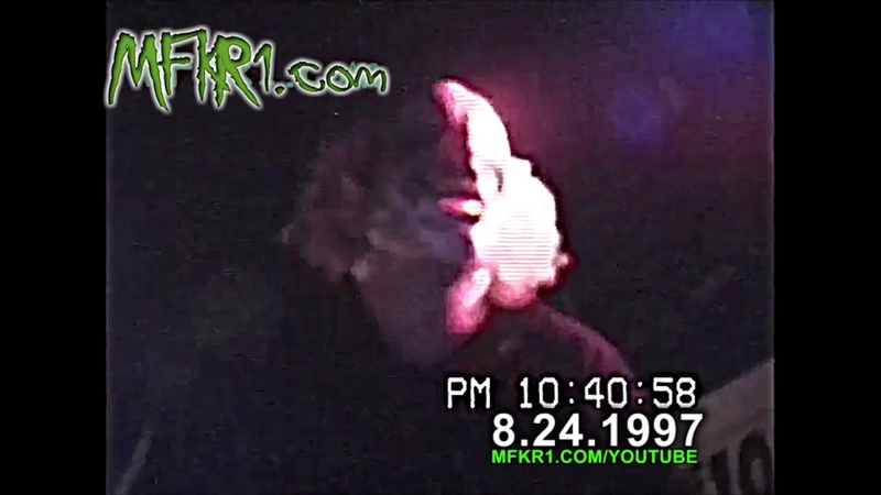 Slipknot Live 1997 Corey Taylor's first show Featuring Anders Colsefni 08 24 97