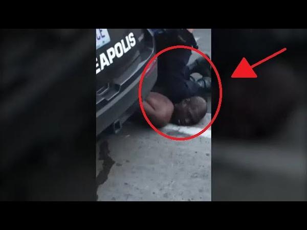 Muere un hombre negro a manos de la policía: Por favor, no puedo respirar (George Floyd) 😥😱