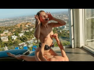 Jillian Janson - Photoshoot Fun (Blowjob, Brunette, Natural Tits, All Sex)