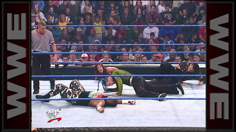 [My1] The Hardy Boyz vs. The Dudley Boyz - WCW Tag Team Championship Match SmackDown, Oct. 25, 2001