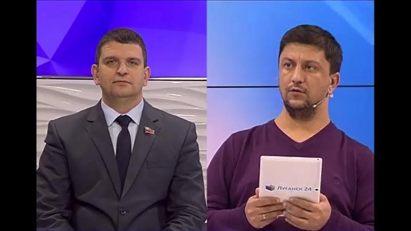Олег Коваль в телепередаче Открытая студия 23 12 19