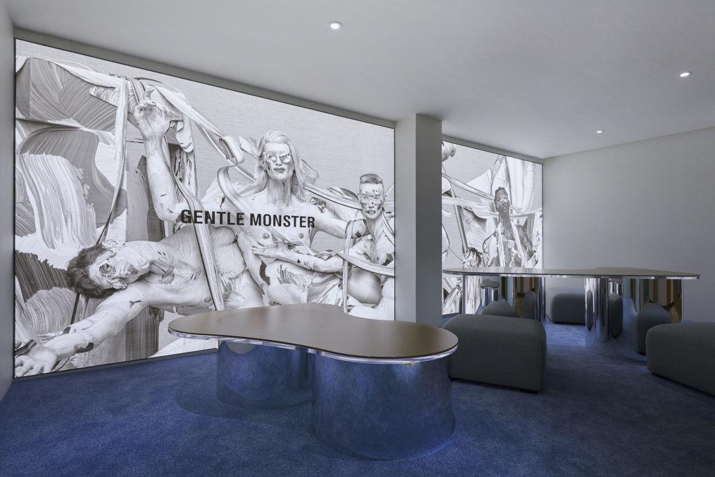 Галерея очков Gentle Monster в Сеуле