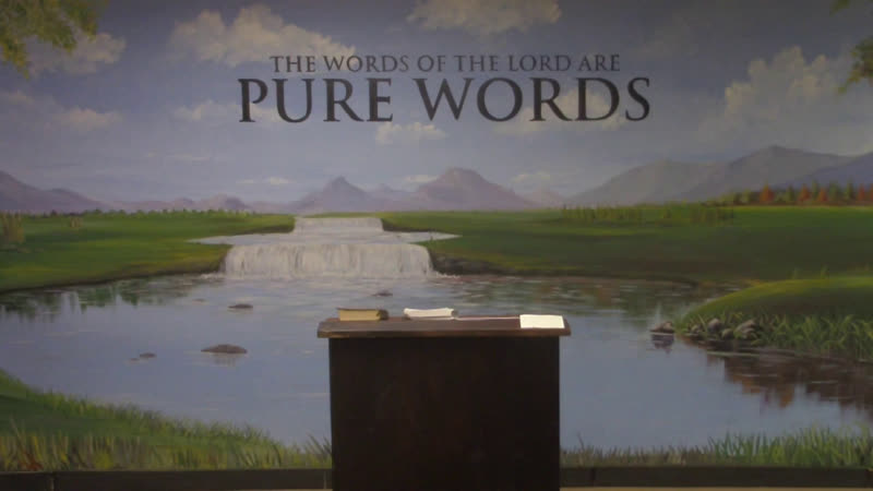 Psalms 6 - Pastor Jonathan Shelley | Pure Words Baptist Church