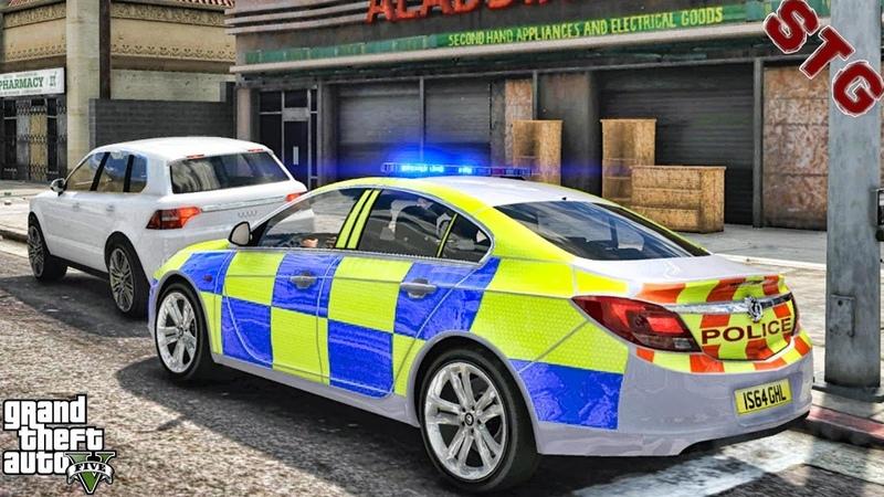 VAUXHALL INSIGNIA BRITISH PATROL 140 GTA 5 REAL LIFE PC POLICE MOD