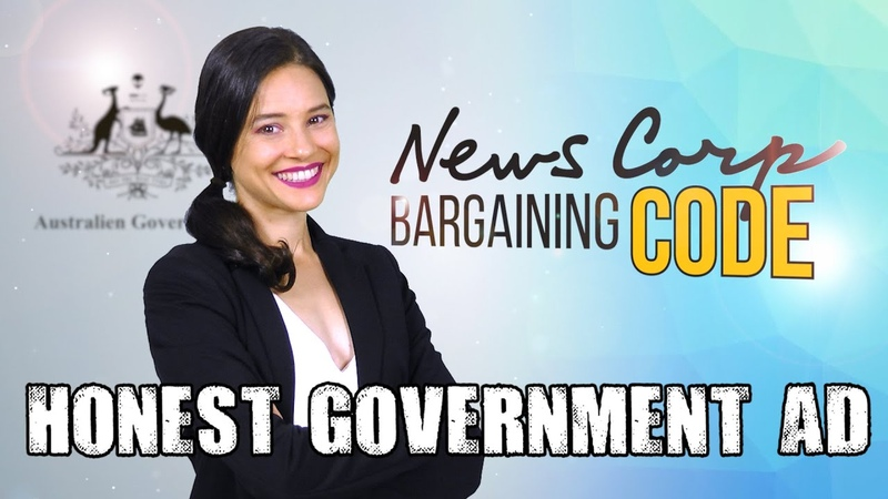 Honest Government Ad News Corp Bargaining Code