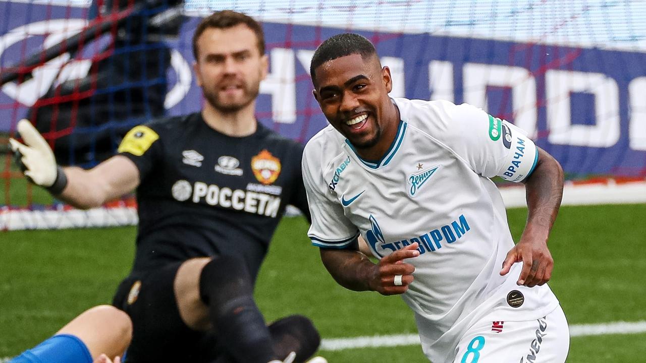 Зенит - ЦСКА, 4:0. Игорь Акинфеев и Малком