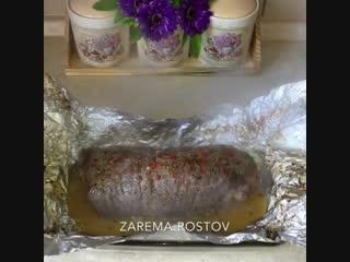 Рулет из говядины с сыром - Личный повар Рецепт здесь