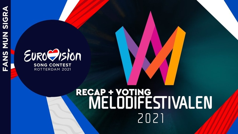 ВЕРСИЯ ДЛЯ YOUTUBE Eurovision 2021 Sweden 🇸🇪 Melodifestivalen 2021 Recap of All Songs Blog Voting