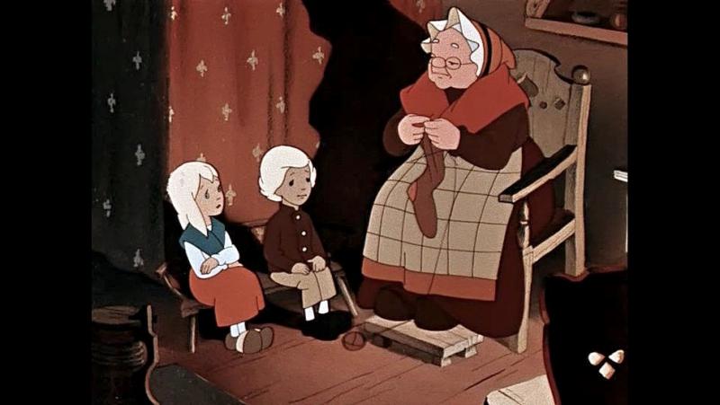 """Старые добрые мультфильмы для зимнего настроения????: """" Ночь..."""