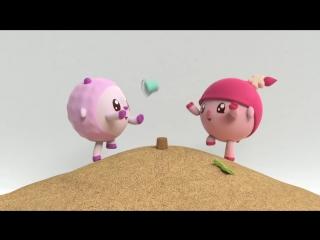 Малышарики 1 серия - Качели - обучающие мультфильмы
