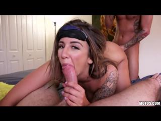 Layla London обманом трахнули два друга [HD 720, all sex, big tits, new porn 2016 ]