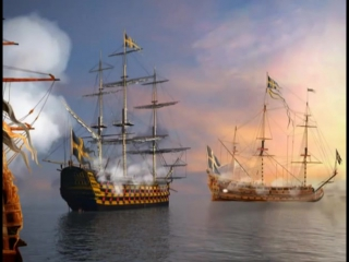 ДФ. Сражения и войны России. Битва при Гангуте 1714 год