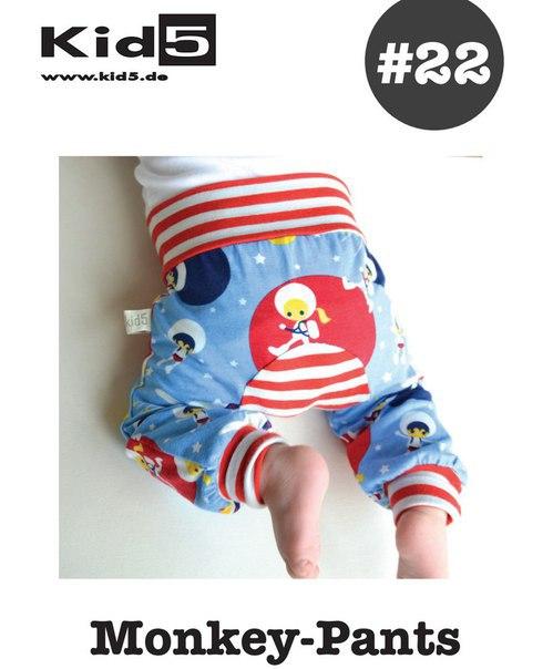 Подборка выкроек штанишек для малышей
