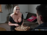 Jordan Pryce - сыграл с грудастой мамкой в шахматы (Mommy, mom, milf, Big Tits, Big Dick, Hardcore, секс с мамкой, инцест)