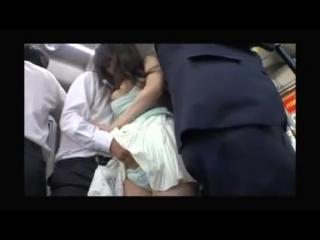 Порно ролики онлайн мужики мнут сиськи японки в автобусе по принуж