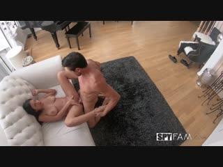 Autumn Falls - Stepdads Superbowl Seduction [All Sex, Hardcore, Blowjob, Big Tits, Teens]