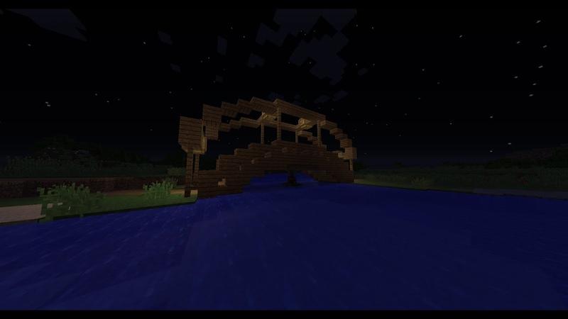как построить красивый мост в minecraft 1.7-.1.10