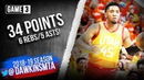 Donovan Mitchell Full Highlights 2019 WCR1 Game 3 Rockets vs Jazz - 34 Pts, 5 Asts! | FreeDawkins