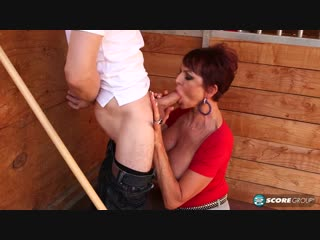 Gina Milano - 60-year-old pussy meet 26-year-old cock