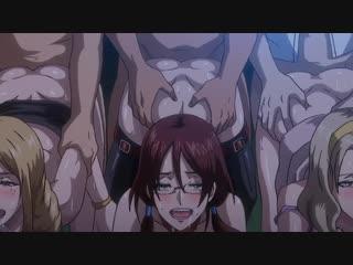 Hentai Хентай Meikoku Gakuen Jutai Hen _ Оккультная академия 02 2