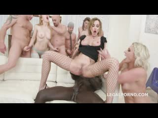 Brittany Bardot, Elen Million, Sara Bell - The Lottery #2 GIO999 [Legalporno. Anal, Groupsex, Milf