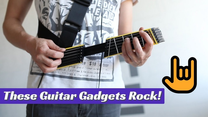 ✪Top 5 Guitar Gadgets of 2017