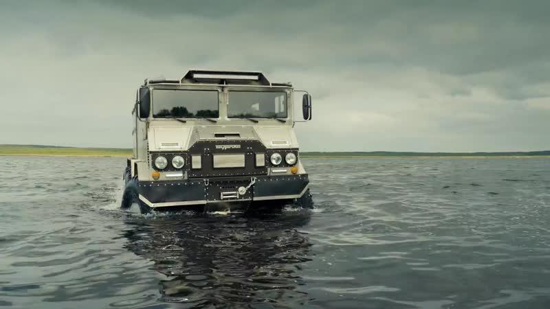 Транспорт для Северного полюса Машины, на которых вы не прокатитесь. Второй сезон