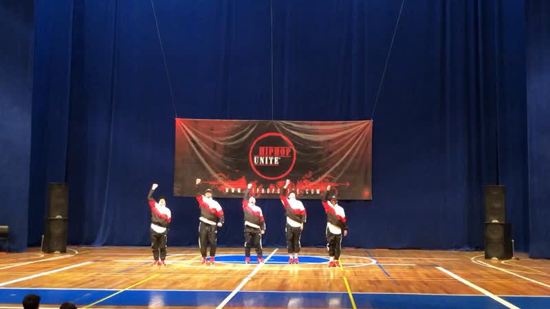 HIP-HOP UNITE RUSSIA 2019/«OldStars» г.Красноярск 1 МЕСТО в 35