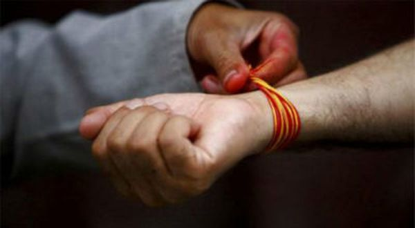 Как превратить обычную нитку из мотка пряжи в оберег
