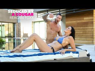 Reagan Foxx - Sharon Fuller Reagan Foxx fucks by the pool
