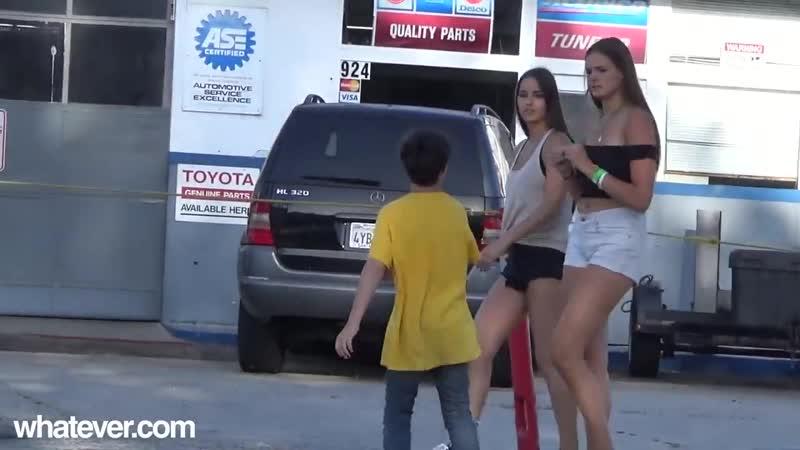 11 летний парень клеит девушек