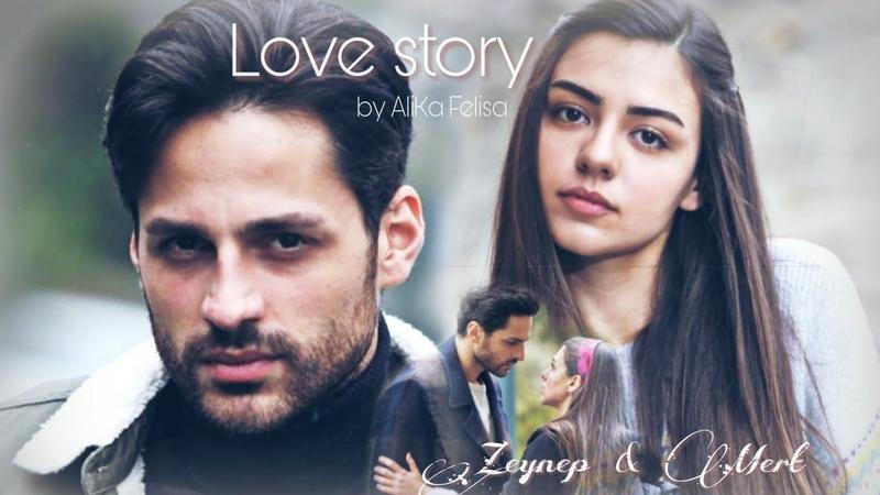 Богатый парень влюбился в простую девушку. Клип на турецкий сериал Не плачь, мама🌺. Мерт❤️Зейнеп
