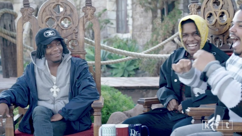 KERWIN FROST TALKS WITH ASAP ROCKY IAN CONNOR (EPISODE 6)