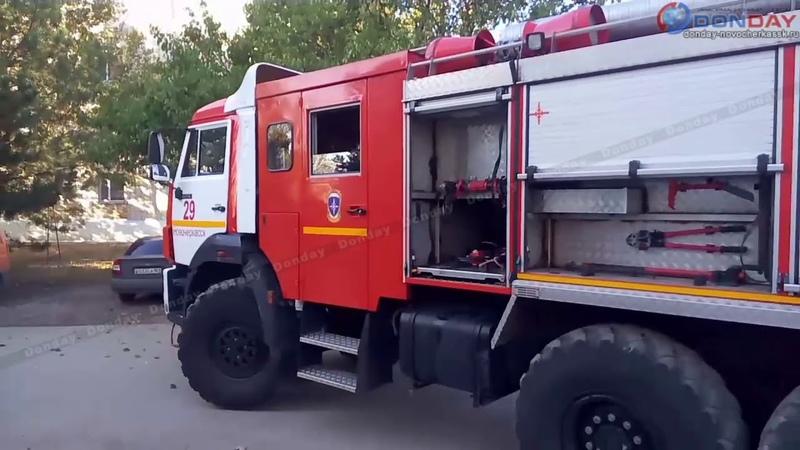 Пожар на Искра, 9. Новочеркасск.