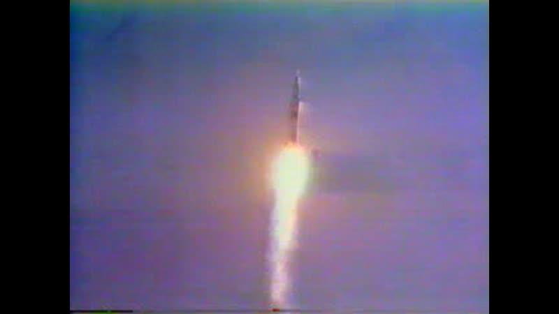Запуск корабля «Аполлон-11» 16 июля 1969 года