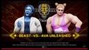 Beast vs. Ava Unleashed(WWE 2k19)