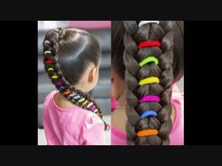 Очень красивое плетение кос для маленькой модницы!