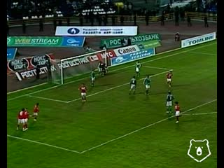 Первый гол Артёма Дзюбы в РПЛ, 2007 год