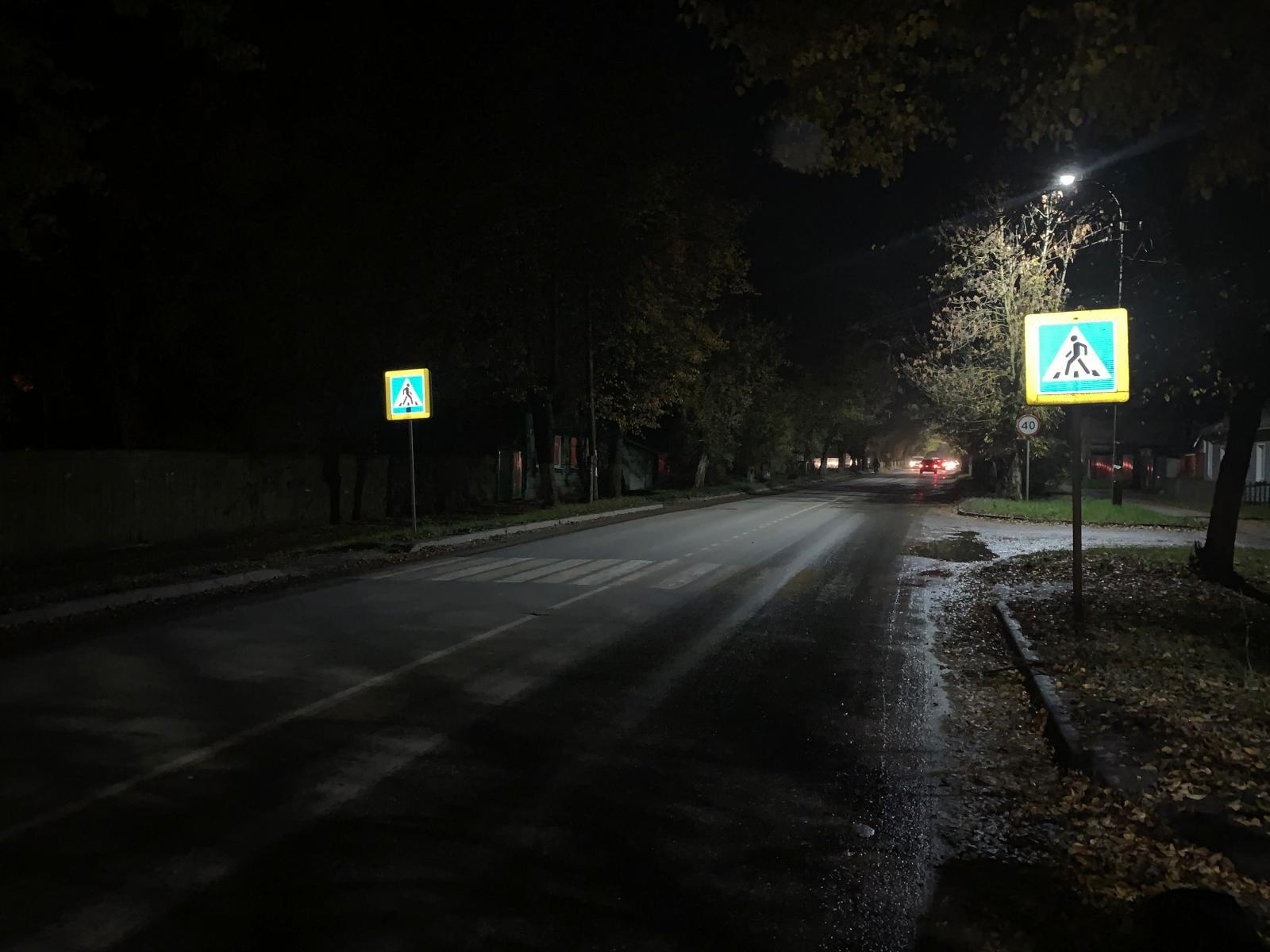 На улице Володарского в Кимрах водитель Ниссана сбил ребенка на пешеходном переходе
