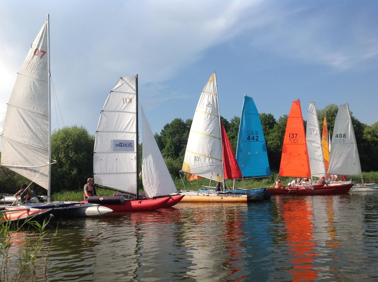 Прогулки под парусами и фестиваль пиратской песни. В Курской области пройдут соревнования по спортивному туризму на парусных дистанциях
