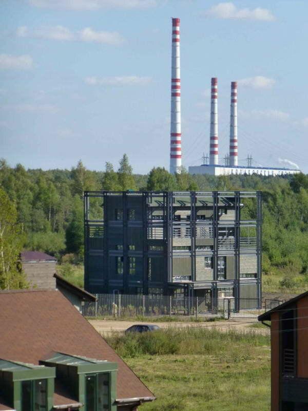 Необычные дома мира: Дом-куб в России