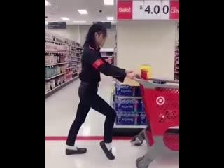 Как я хожу за покупками
