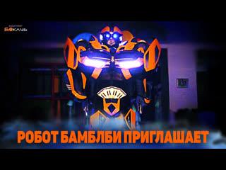 Робот Бамблби ПРИГЛАШАЕТ