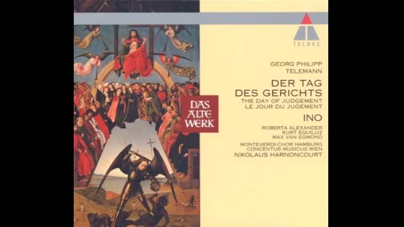 Telemann_ Der Tag Des Gerichts (TWV 6_8), Ino (TWV 20_41) - Harnoncourt - Cd No.