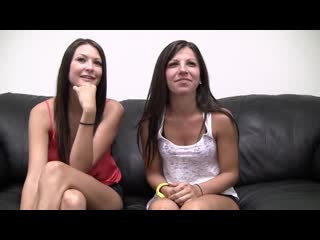 Melanie And Natalee [GolieMisli+18, All Sex, Casting, Small Natu